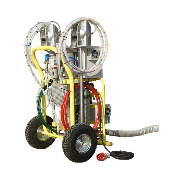 Maszyna Izoler EVO - prawy tył