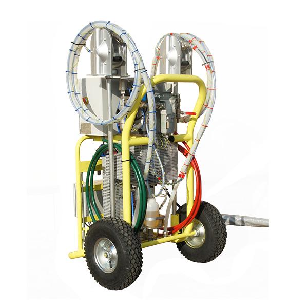 Maszyna Izoler EVO - lewy tył