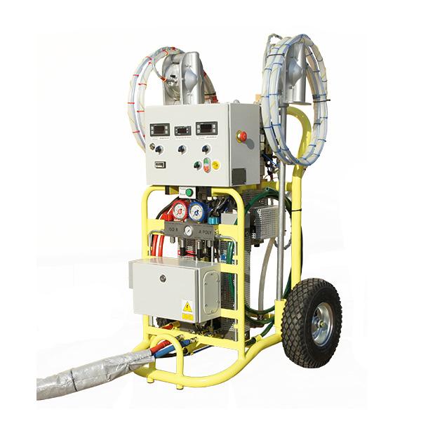 Maszyna Izoler EVO - lewy przód