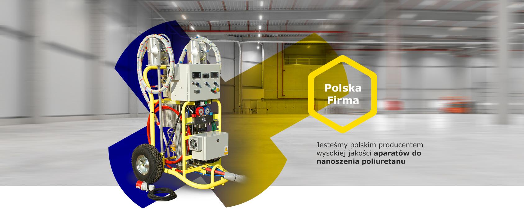 Firma Izoler - Jesteśmy polskim producentem wysokiej jakości aparatów do nanoszenia poliuretanu