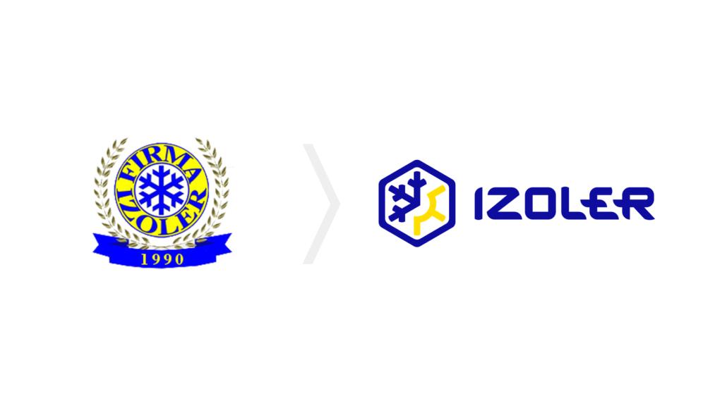 Zmiana wyglądu logo Firmy Izoler